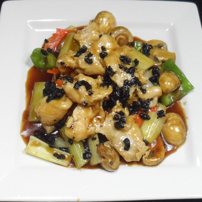 Chicken-with-Black-Bean-Sauce