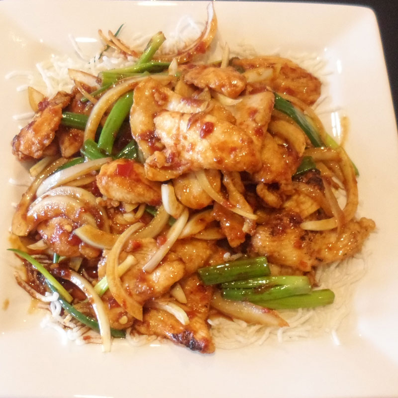 Mongolian-Chicken