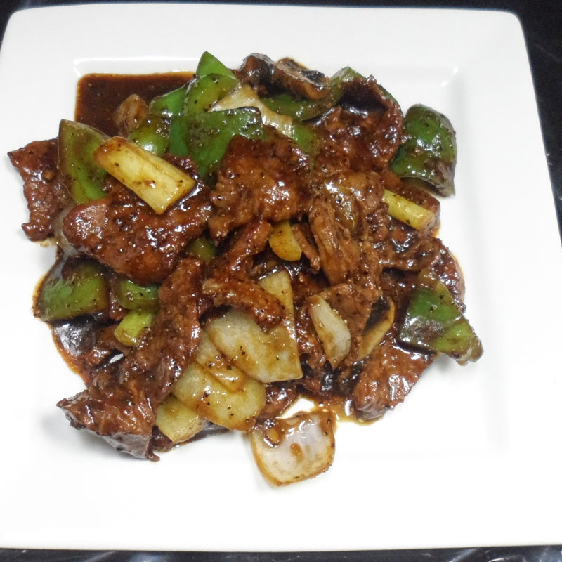 Beef-with-Black-Pepper