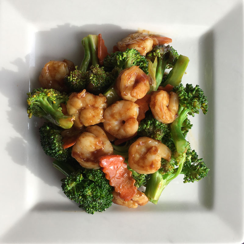 Broccoli-Shrimp